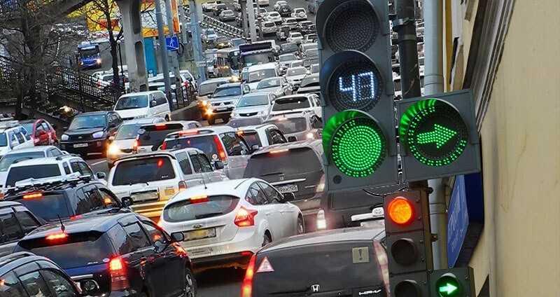 японские светофоры