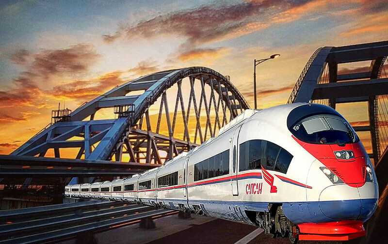 Когда по Крымскому мосту пройдут первые поезда