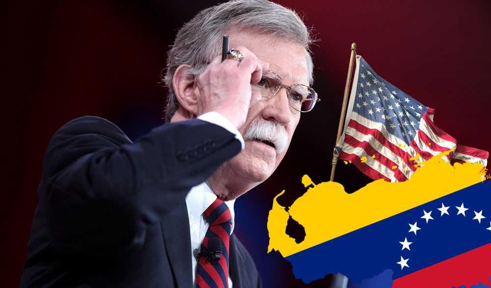 Джон Болтон пригрозил задушить власти Венесуэлы в финансовом смысле