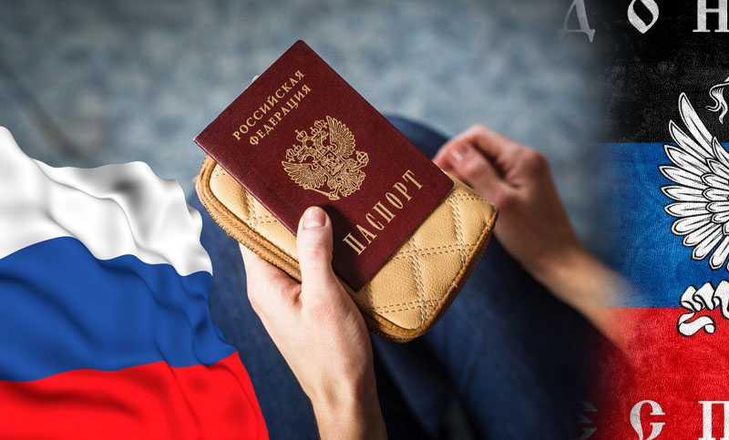 МВД РФ сообщает, что подать документы на гражданство жителям ДНР и ЛНР можно будет без выезда в Россию