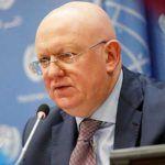 Василий Небензя заявил в ООН, что посылать цветы Зеленскому пока рано