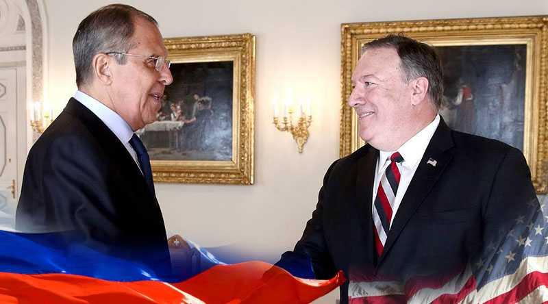 Сергей Лавров в беседе с госсекретарём США указал на недопустимость поддержки захвата власти в Венесуэле