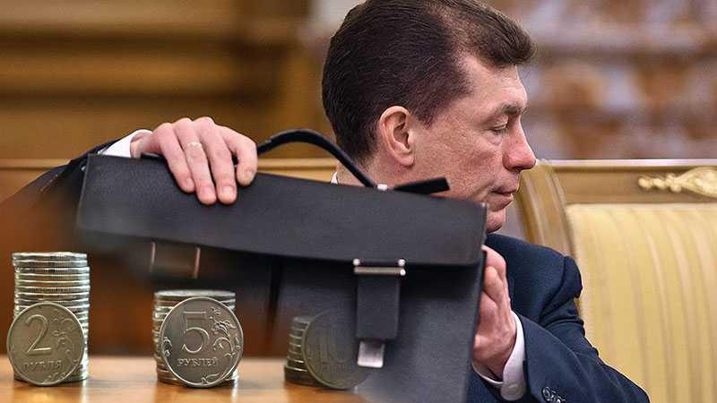 Топилин рассказал когда в России увеличится минимальный размер оплаты труда
