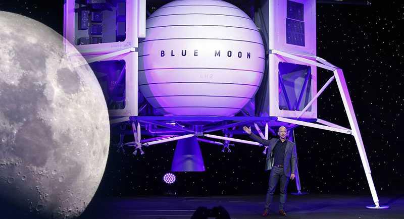 В США показали прототип аппарата для высадки людей на Луну