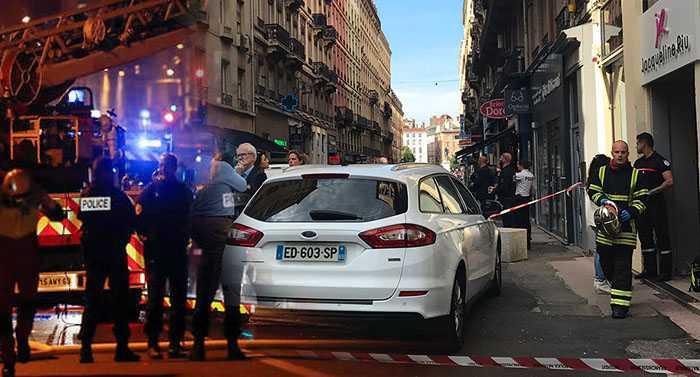 Во французском Лионе сработало взрывное устройство, есть пострадавшие