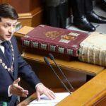 Вступивший в должность президент Зеленский заявил о роспуске парламента