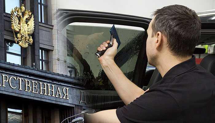 штрафы за тонировку авто