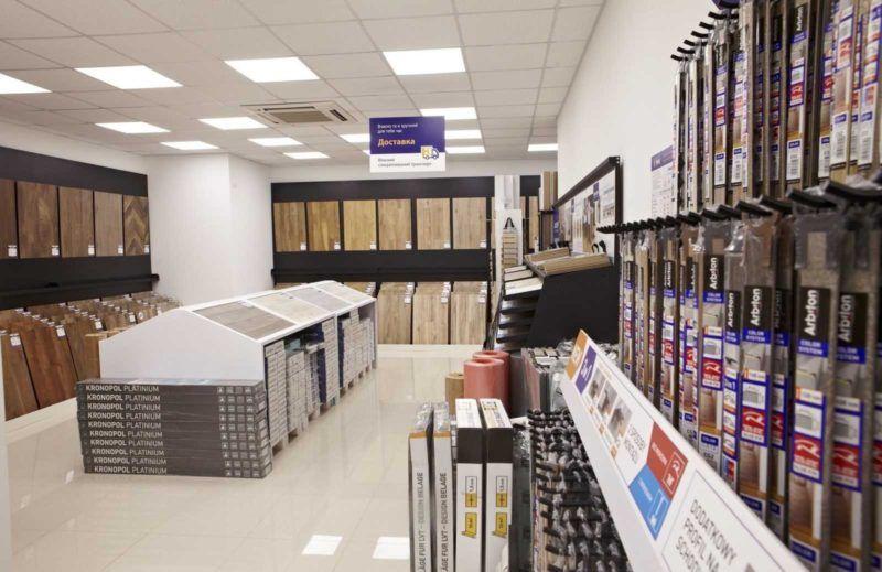 Напольные покрытия Сеть магазинов «HOLZ»