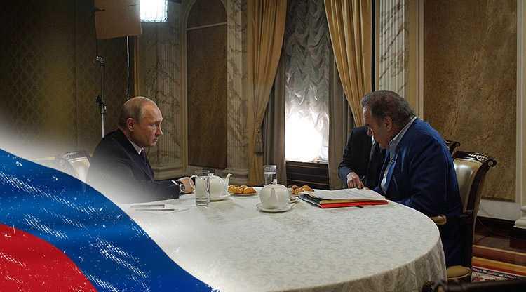 Стоун узнал у Путина причину ненависти Украины к России