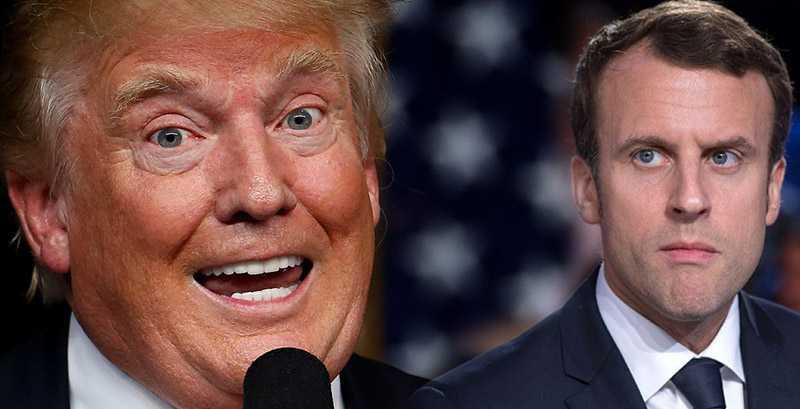 Трамп решил наказать Макрона за глупость