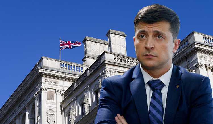 Великобритания уклонилась от ответа на предложение Зеленского