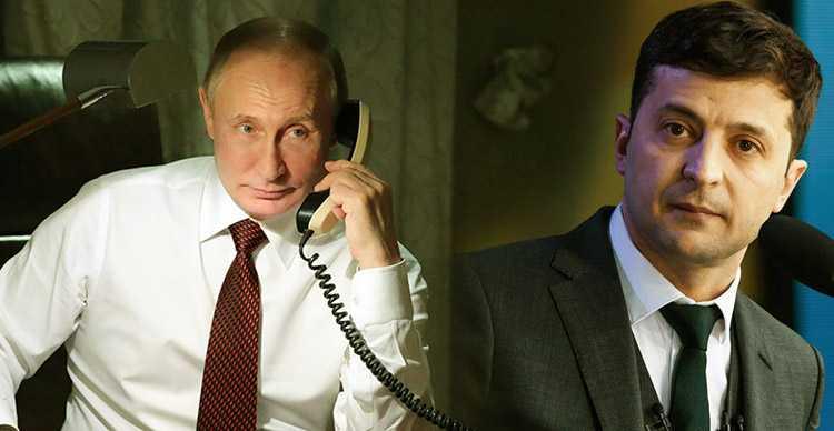 Владимир Путин и Зеленский впервые пообщались по телефону