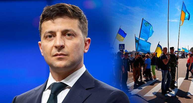 Зеленского просят снять блокаду Крыма