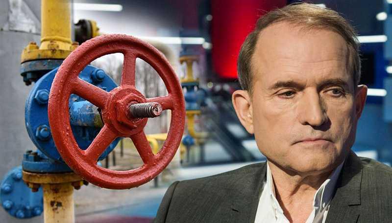 Медведчук заявил, для решения газового вопроса нужно договориться с Россией