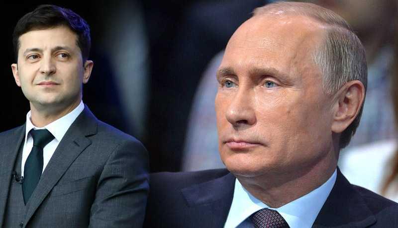 Путин попросил Зеленского не допускать дальнейшие обстрелы Донбасса