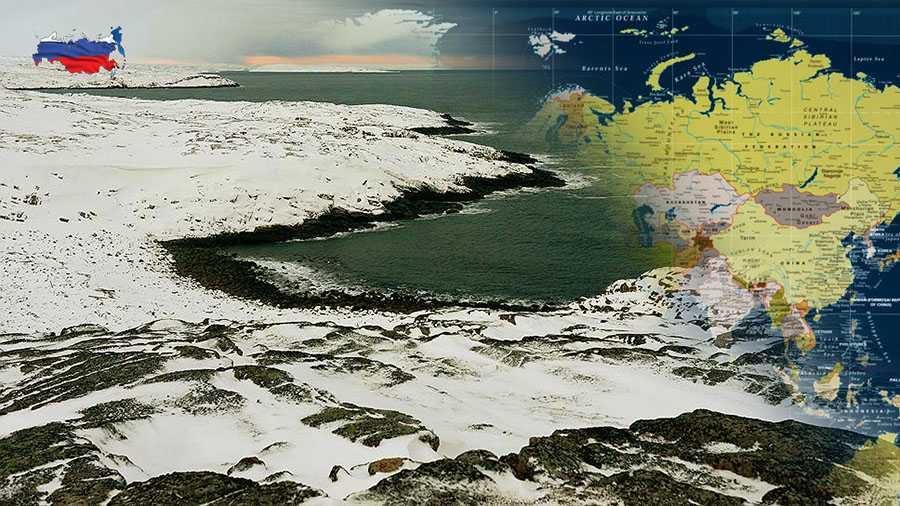 У России появилось 5 новых островов в результате таяния арктического ледника