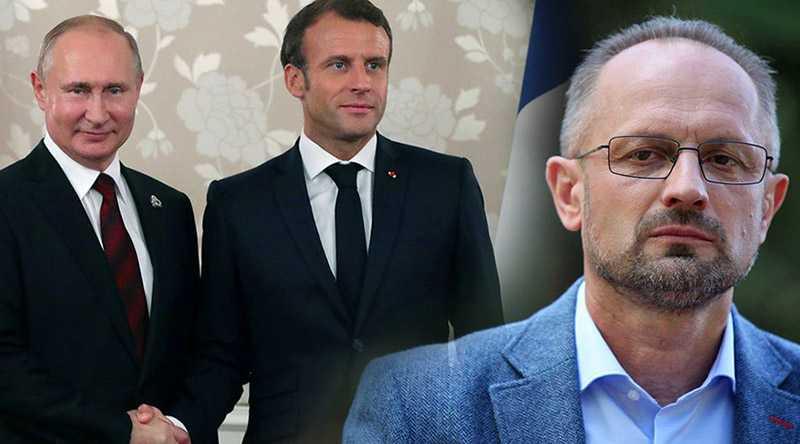 Украинский дипломат считает встречу Путина и Макрона 19 августа «похоронами» антироссийских санкций