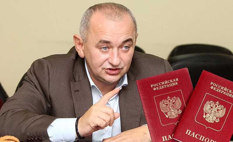 В Украине рассказали сколько жителей Донбасса получили паспорта РФ