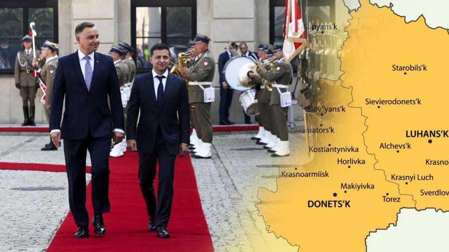 Зеленский приглашает Польшу восстанавливать Донбасс