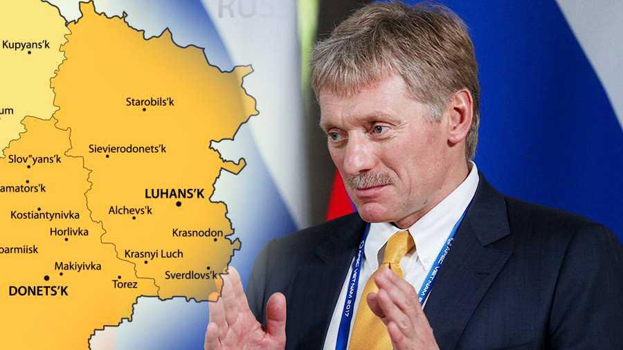 Песков рассказал о том, какие меры могут быть действенны при разрешении конфликта на Донбассе