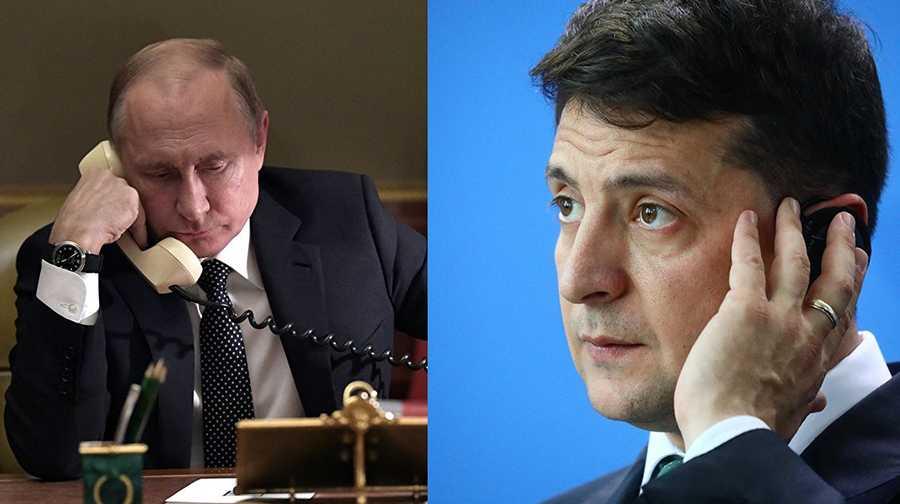 Путин и Зеленский о встречи «нормандской четверки»