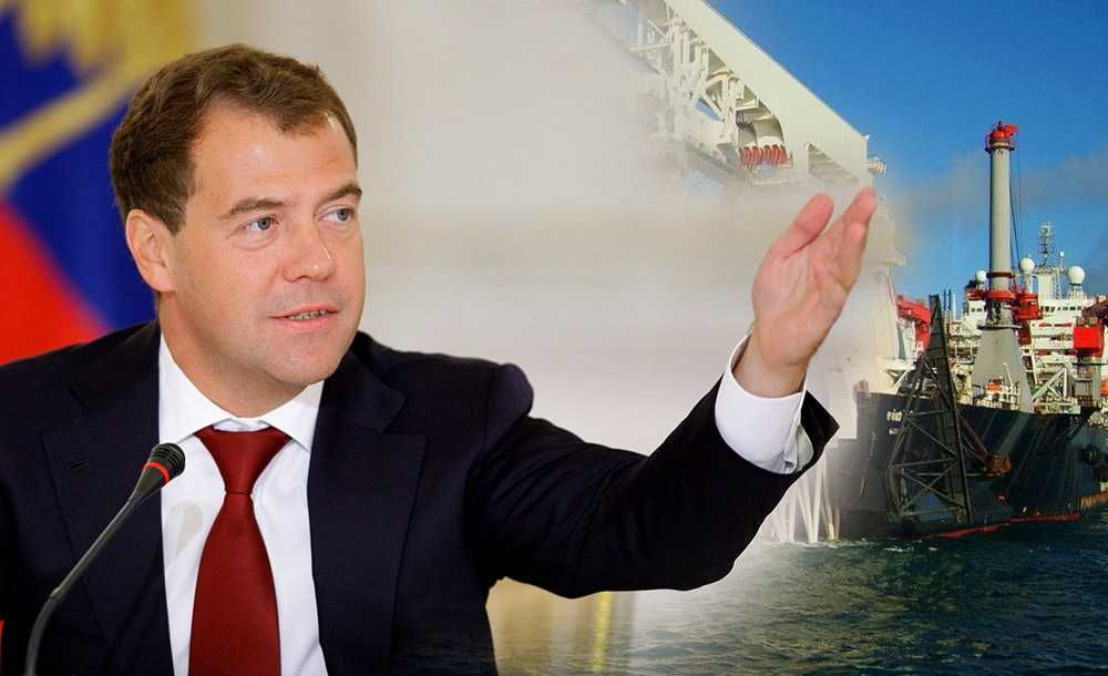 Медведев считает Турецкий поток выгодным для всей Европы