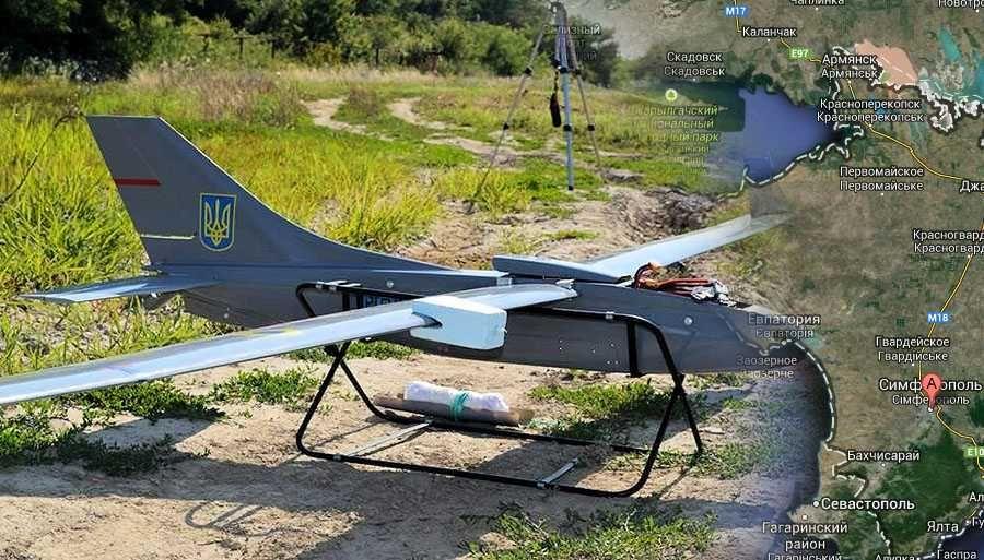 О пролёте из Украины беспилотных аппаратов с листовками