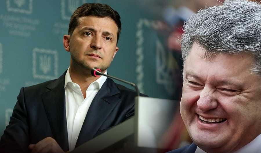 Порошенко считает, что Зеленскому пора брать на себя ответственность