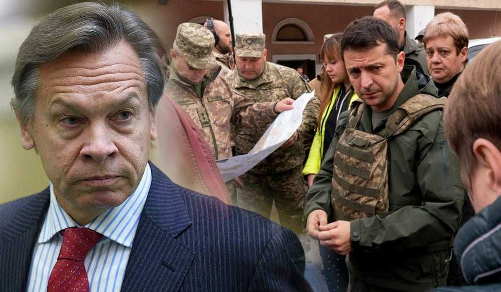 Пушков дал оценку встрече Зеленского с националистами