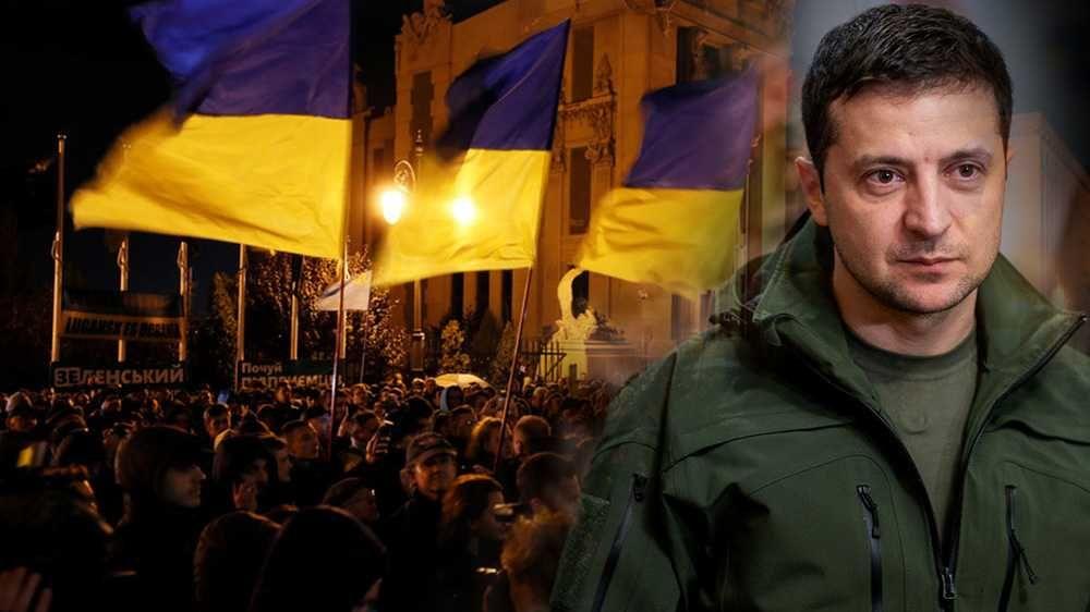 Украинские неонацисты отдали приказ Зеленскому