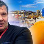 Владимир Соловьев заявил, что Украину пытаются лишить транзита газа