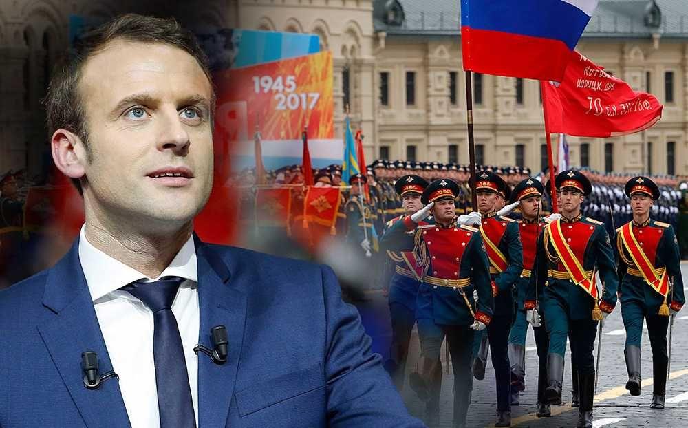 Президент Франции собирается в Россию на празднование Дня Победы