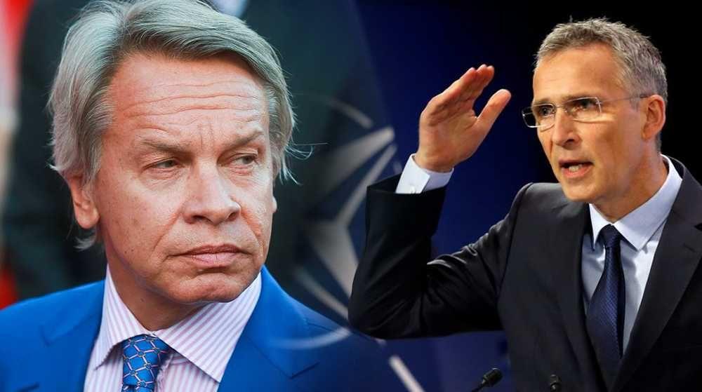 Пушков заявил, что Столтенберг хочет встретиться с Путиным ради видимости диалога