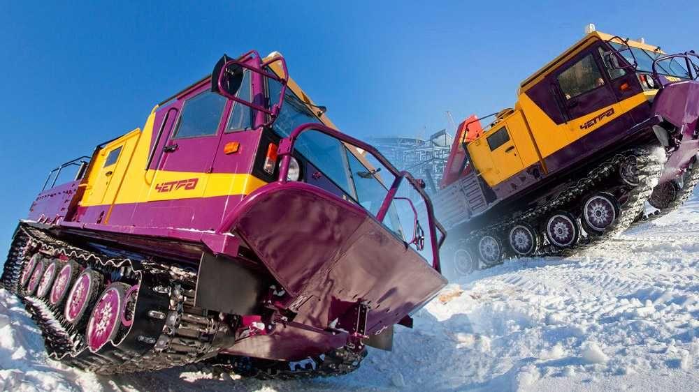 В России разработали специальный транспорт для эксплуатации в арктических условиях