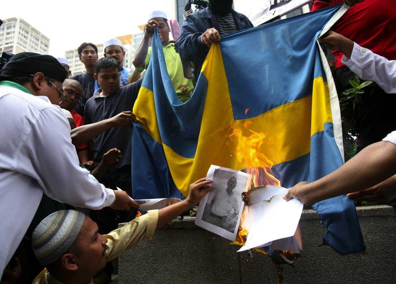 Мигранты в Швеции