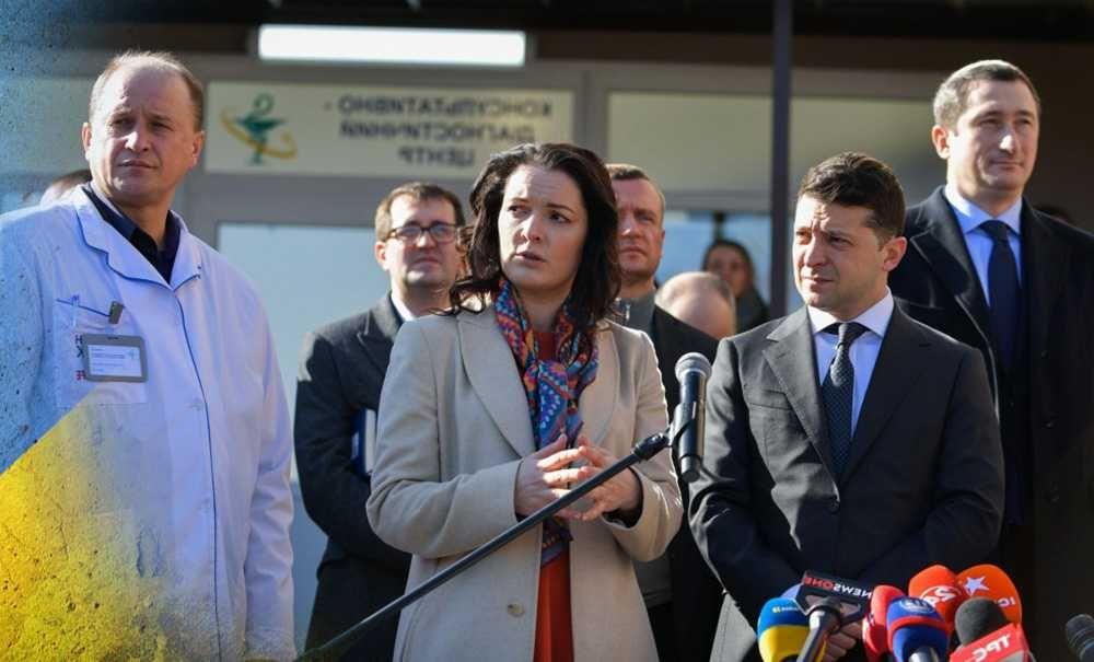 На Зеленского накричали в Борисполе за войну на Донбассе