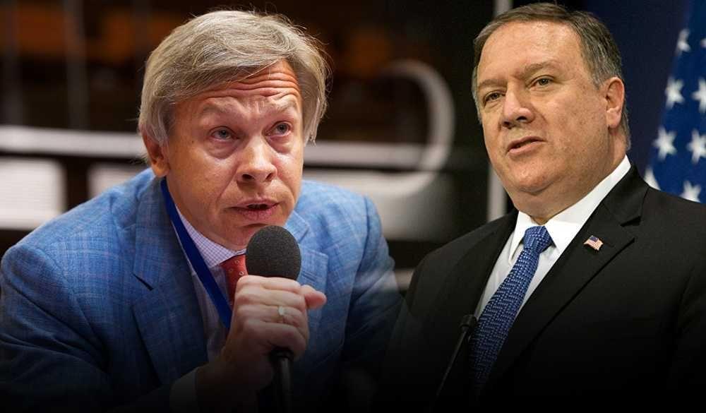 Пушков прокомментировал заявление Помпео о поставках нефти в Беларусь