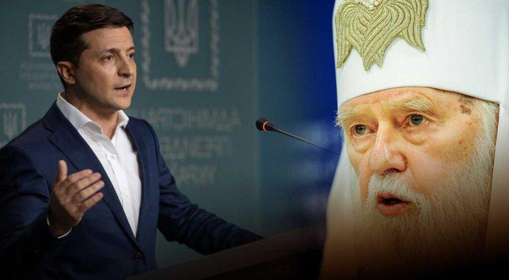 Зеленский призвал церкви проводить богослужения в режиме онлайн