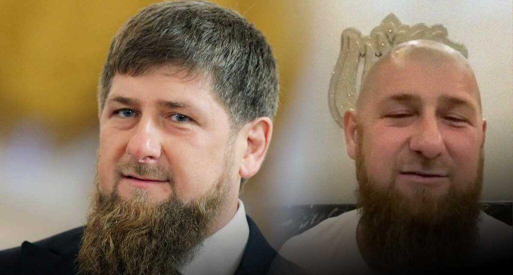 Глава ЧечниРамзан Кадыровпобрился наголо
