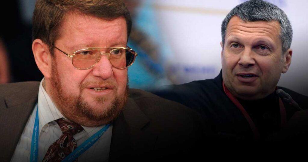 Сатановский рассказал, почему не спадает скандал с Соловьевым и Уткиным