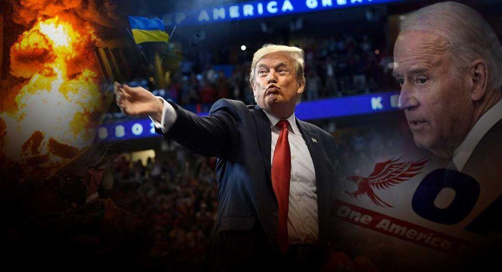 Зачем Трамп сейчас повторно показывает в штатах фильм о майдане