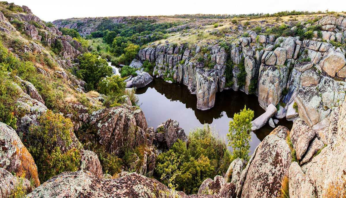 Каньоны в Национальном природном парке «Бугский Гард»