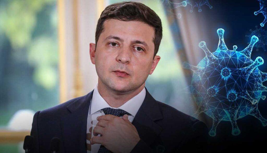 """Зеленский прокомментировал ситуацию с коронавирусом словами """"впереди решающий шторм"""""""