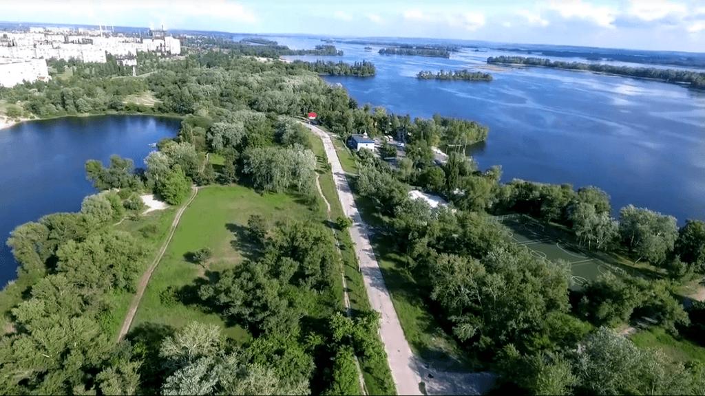 Самые экологично чистые места Украины
