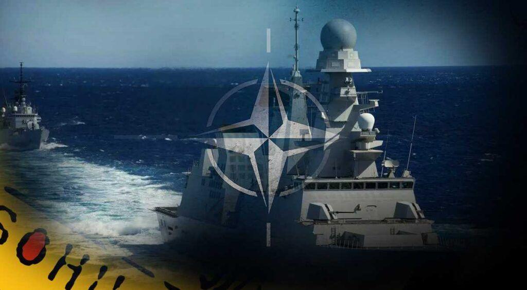 Военные суда США и НАТО оказались неспособны решить боевую задачу в Арктике