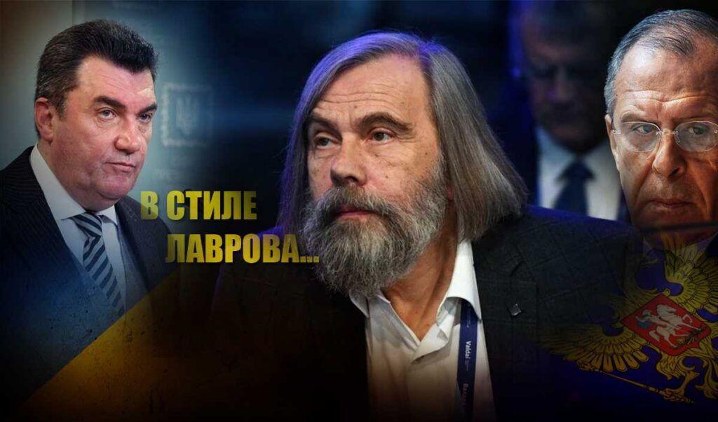 Погребинский ответил на слова секретаря СНБО о «развале» России не подбирая выражений