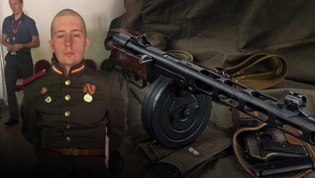 Солдат Никита Ерёменко пояснил разбитое стекло машины ФСО