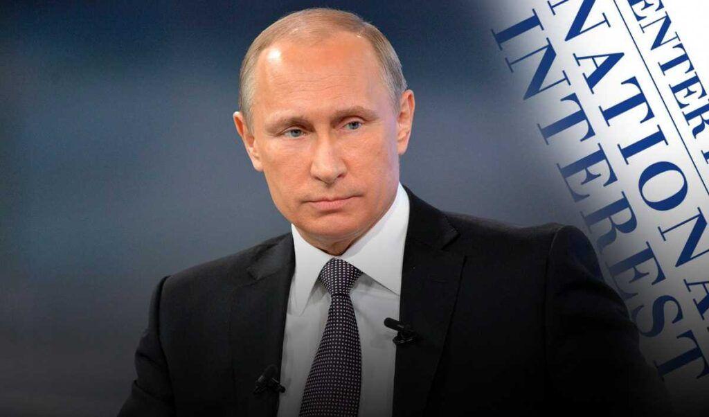 Владимир Путин написал статью о Второй мировой войне для журнала National Interest