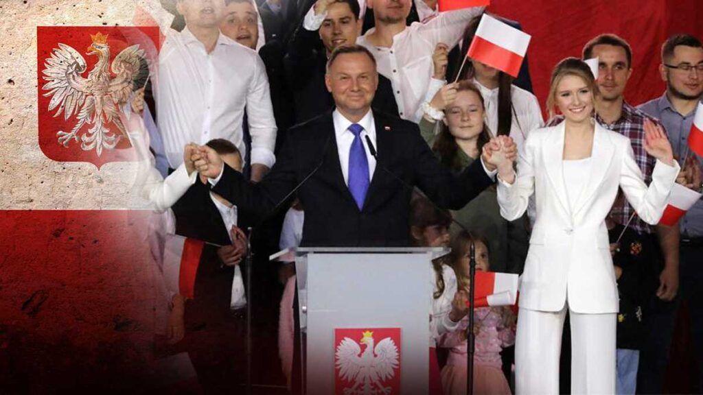 Анджей Дуда побеждает во втором туре выборов президента Польши