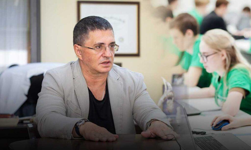 В трансвеститы потянет врач Мясников выступил с критикой дистанционного обучения